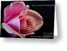 Rose-love Greeting Card
