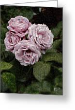 Rose Mosaic 1 Greeting Card