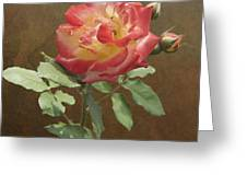 Rose On Thornridge Road Greeting Card