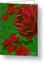 Rose Red By Jrr Greeting Card