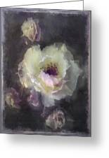 Rose Spray Greeting Card by Jill Balsam
