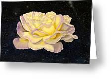Rose Stars Greeting Card