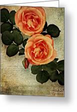 Rose Tinted Memories Greeting Card