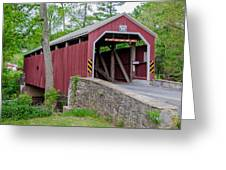 Rosehill Covered Bridge Greeting Card