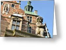 Rosenborg Castle In Copenhagen - Denmark Greeting Card