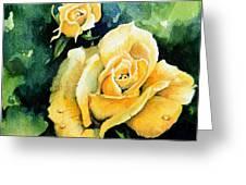 Roses 5 Greeting Card by Hanne Lore Koehler