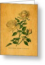 Roses Are Golden Greeting Card
