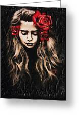 Roses Are Red Greeting Card by Sheena Pike