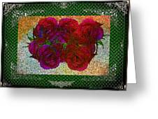 Roses- Featured In Beautiful Roses And Comfortable Art Groups Greeting Card