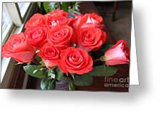 Roses For Mother Greeting Card