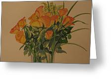 Roses For My Sweetie Greeting Card