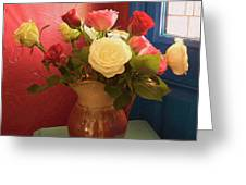 Roses For Sandra Greeting Card