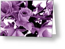 Roses - Lilac Greeting Card