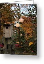 Roses Of Fall Greeting Card