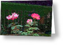 Roses Of South Pasadena 1 Greeting Card by Kenneth James