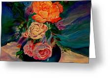 Roses Roses Roses Greeting Card