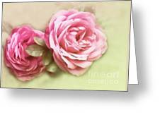 Roses Greeting Card by Sylvia  Niklasson