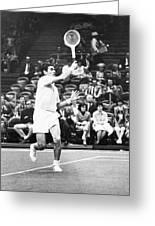 Rosewall Playing Tennis Greeting Card
