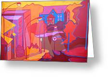 Roslindale Never Looked So Red Greeting Card