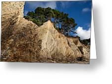 Ross Creek Cliffs Greeting Card