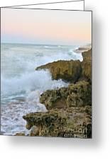 Ross Witham Beach Hutchinson Island Martin County Florida Greeting Card