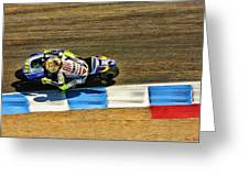 Rossi From Above Greeting Card