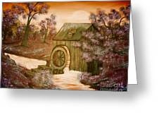 Ross's Watermill Greeting Card