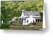 Rosthwaite In The Valley Of Borrowdale Lake District Greeting Card