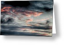 Rosy Clouds Greeting Card