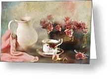 Rosy Complexion Greeting Card