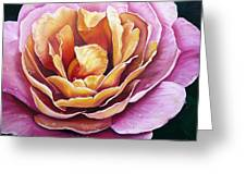 Rosy Dew Greeting Card