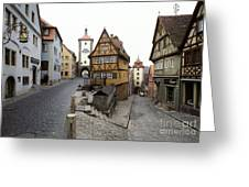 Rothenberg, Germany Greeting Card