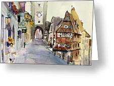 Rothenburg Greeting Card