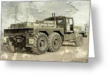 Rotinoff Tractor  Greeting Card