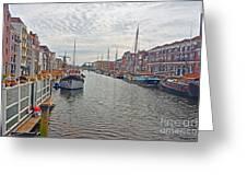 Rotterdam Canal Greeting Card