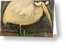 Rotund Bird Greeting Card