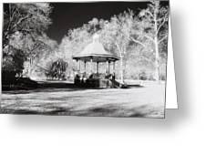 Rotunda Benalla Botanical Gardens Greeting Card