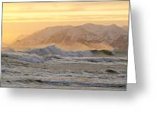 Rough Seas Greeting Card by Tim Grams