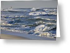 Rough Surf Greeting Card