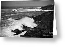 Rough Surf Greeting Card