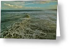 Rough Surf Hatteras 2 10/17 Greeting Card
