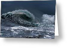 Rough Wave Greeting Card