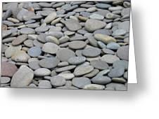Round Rocks Greeting Card