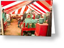 Round Top Texas Under The Big Tent Greeting Card
