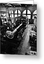 Roundhouse Working No. 3 Greeting Card