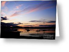 Roundstone Harbour Greeting Card