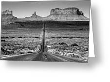 Route 163 Greeting Card