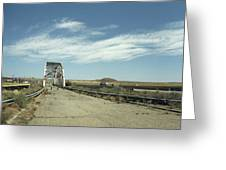 Route 66 Bridge - New Mexico Greeting Card