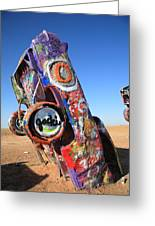 Route 66 Cadillac Ranch Greeting Card