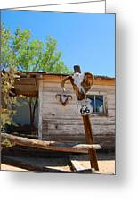 Route 66 Carcus Greeting Card
